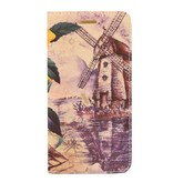 Galaxy A3 A300F Windmill Book Case