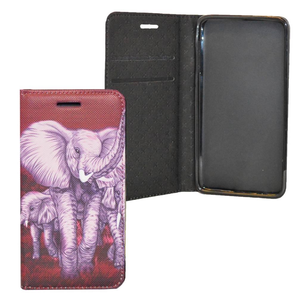 Elephant Book Case Galaxy S6 Edge G925
