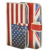 Flag Book Case IPhone 5s
