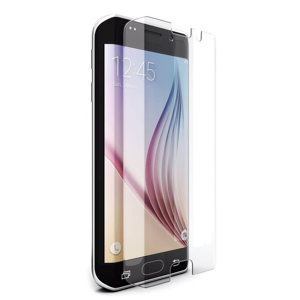 Galaxy S6 Edge Plus Tempered Glass Protector Clear Curved