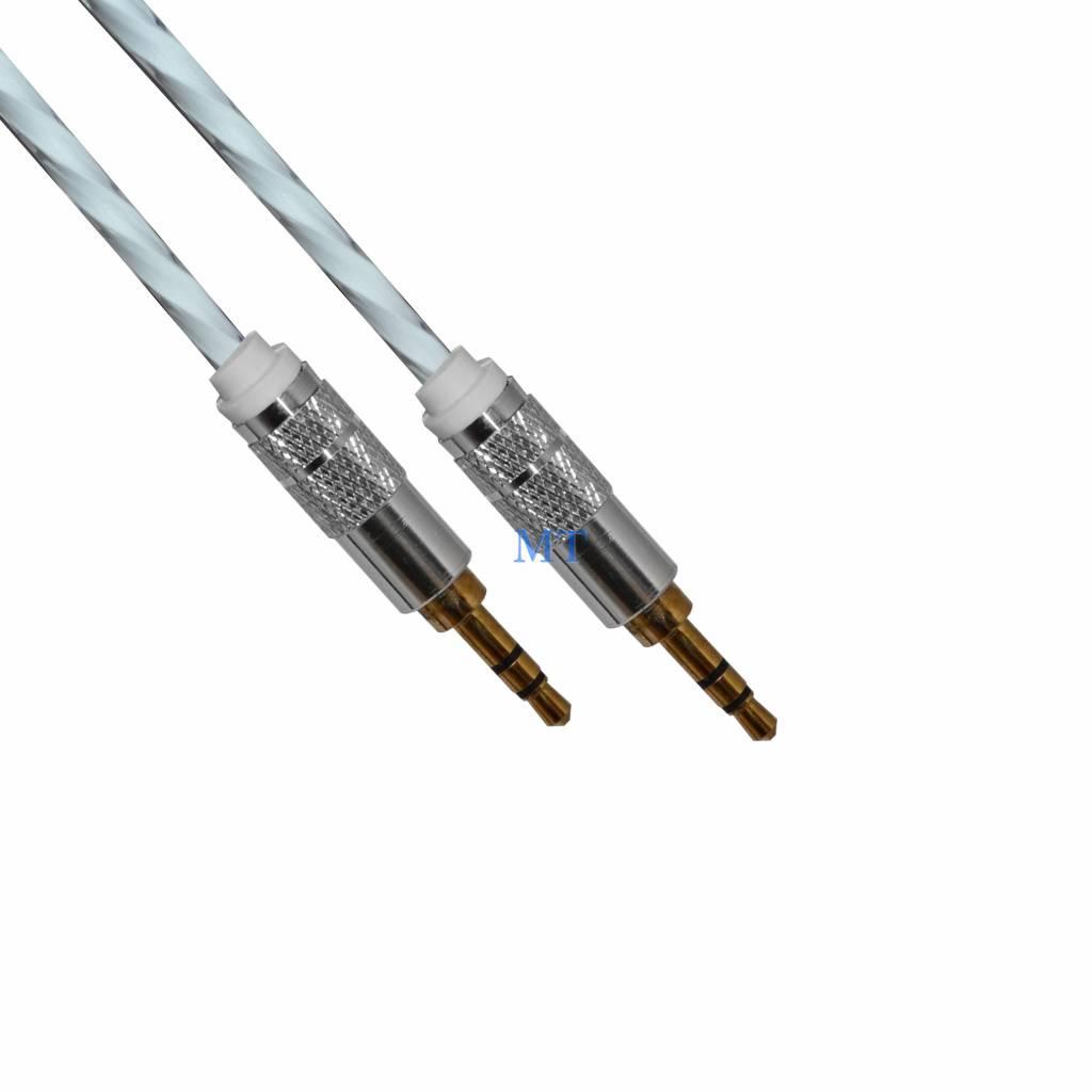 Aux White Cable