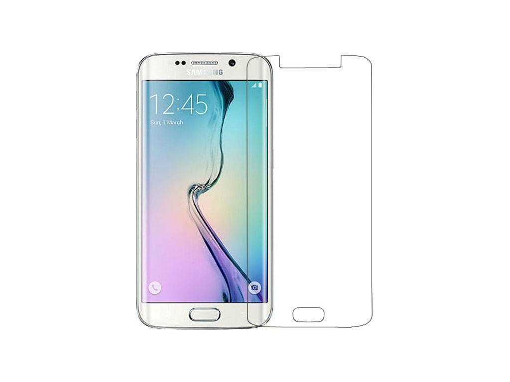 50X Galaxy S6 Edge Tempered Glass Protector Clear Curved