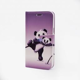 Panda Print Galaxy J5 Bookcase