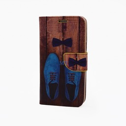 Shoes Print Galaxy S3 Bookcase