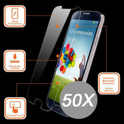 50X Tempered Glass Protector S6 Edge Plus