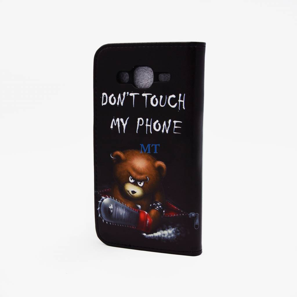 Dont Touch My Phone Print Case Galaxy J1 (J100F)