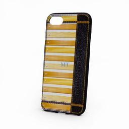 Light Brown Wood TPU Case Galaxy S7