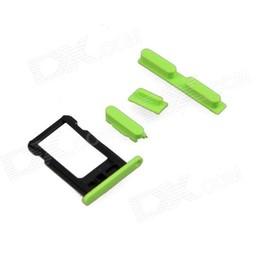 Sim Tray + Volume/Power/Mute Switch Button Keys IPhone 5C