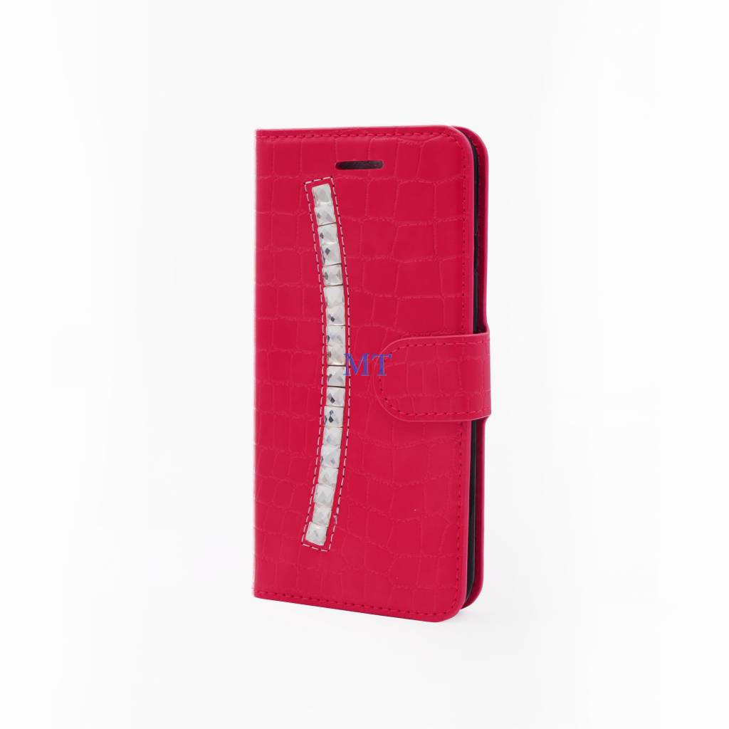 Fashion Croco bookcase iphone 7 plus