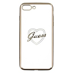Guess Silicone Case Heart Iphone 6G/6S
