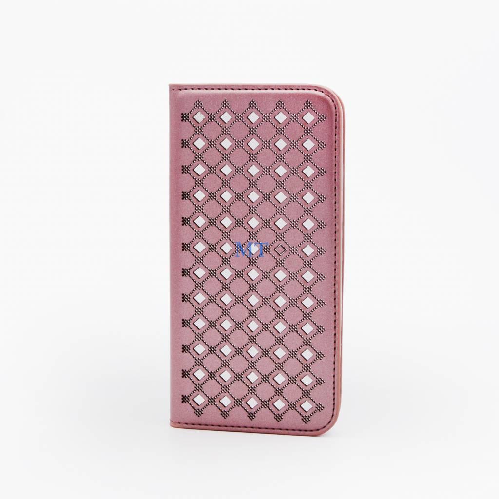 Classy mirror Bookcase IPhone 7 Plus