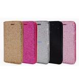Iphone 7 Plus Fashion Bling Bookcase