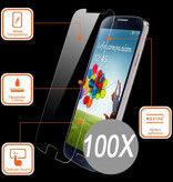 100X Tempered Glass Protector S7