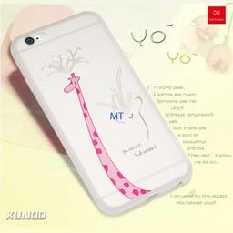 Iphone 7 Plus Xundo YOYO Girrafe Silicone case