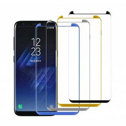 10X Small Glass Protector 3D Curved Galaxy S8 Plus