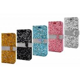 Stone Diamond Bookcase Galaxy S8 Plus