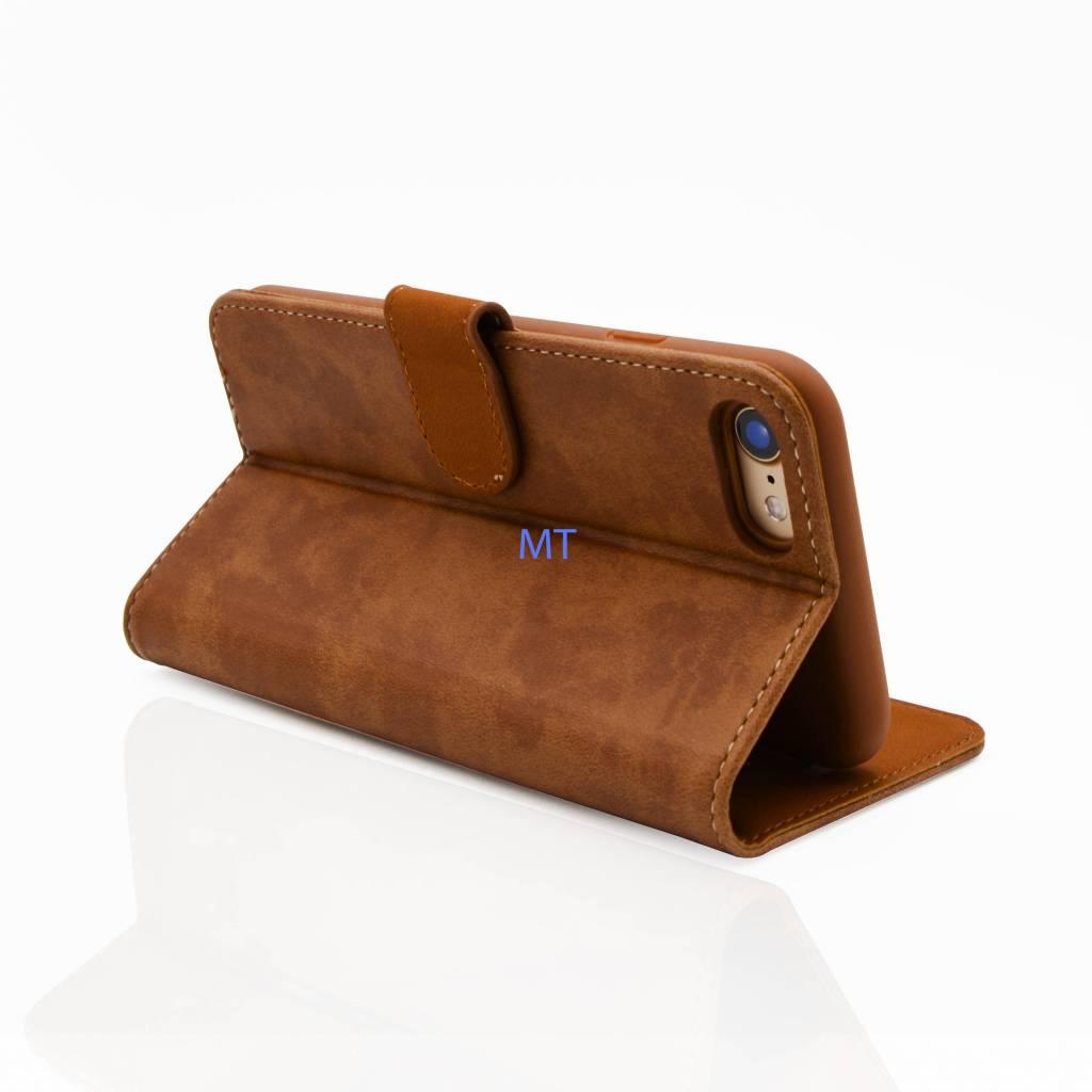 Lavann Lavann Natural Bookcase Galaxy S8 Plus