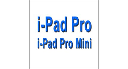 LCD & Touch For Ipad Pro / pro mini