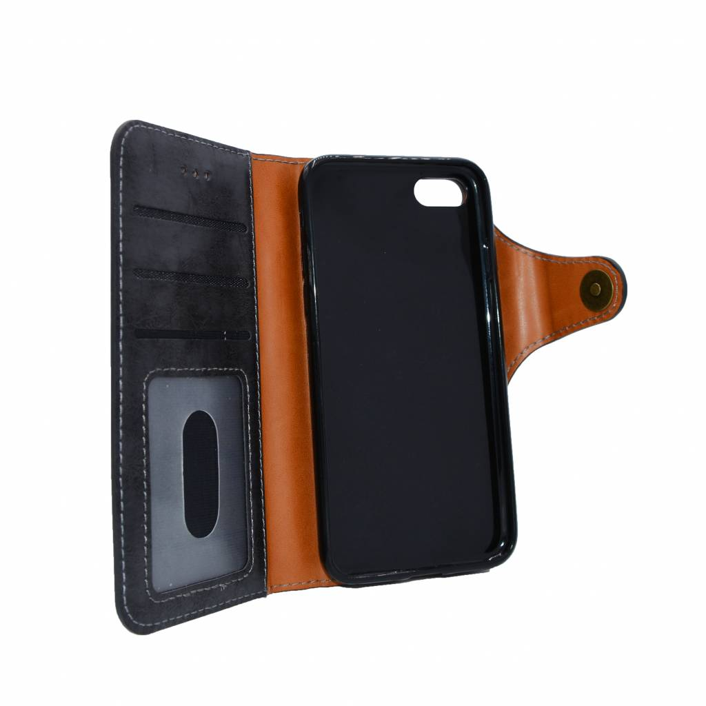 Magnet Leather Book Case Galaxy 8 Plus