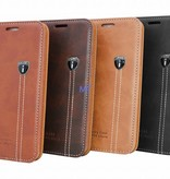 Natural Leather Book Case Galaxy S7 (G930F)