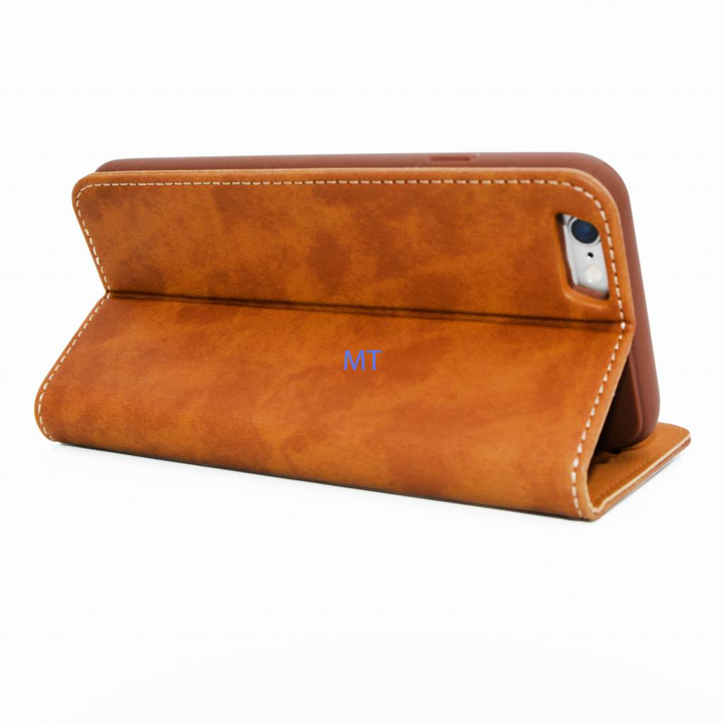 Natural Leather Book Case Galaxy S6