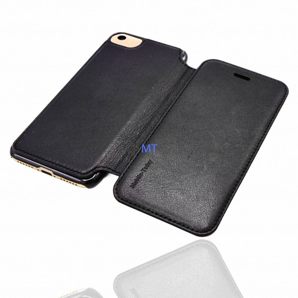 MT Natural Leather Book Case iPhone 7 Plus