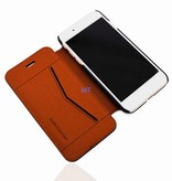 MT Natural Leather Book Case iPhone 6 Plus