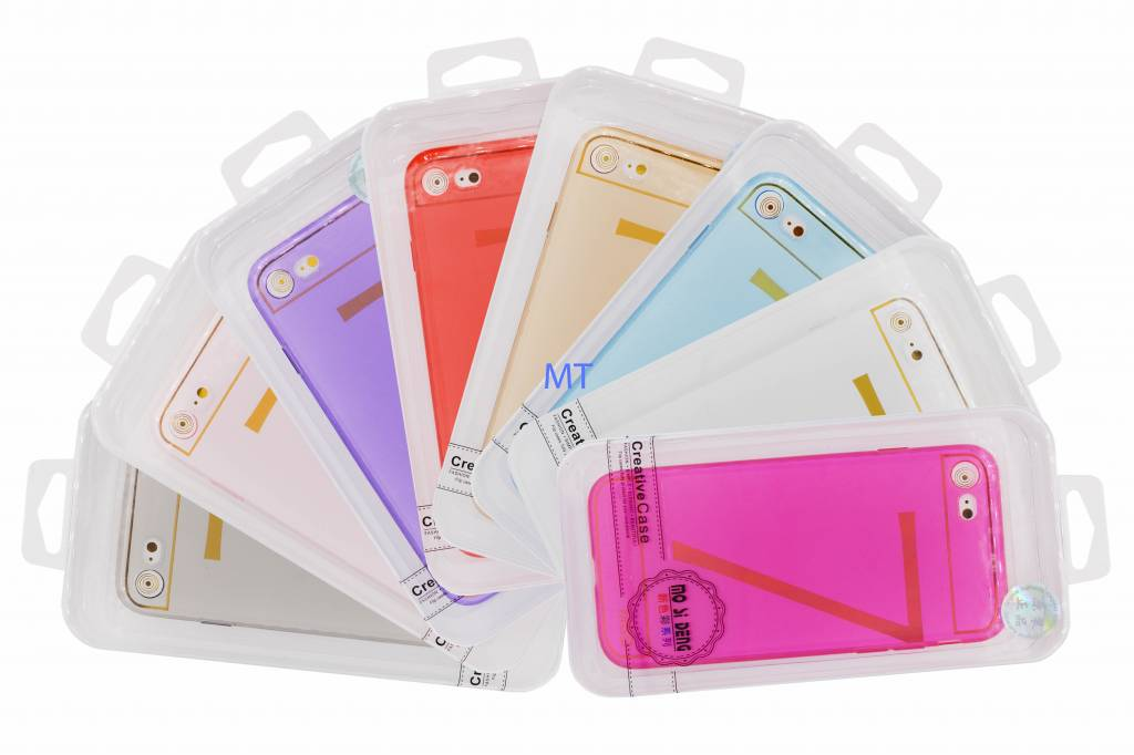 50X Clear Silicone Iphone 5S