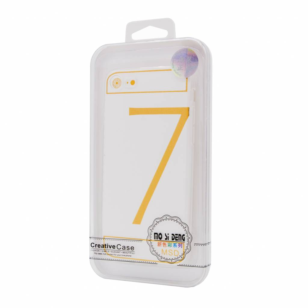 50X Clear Silicone Iphone 7