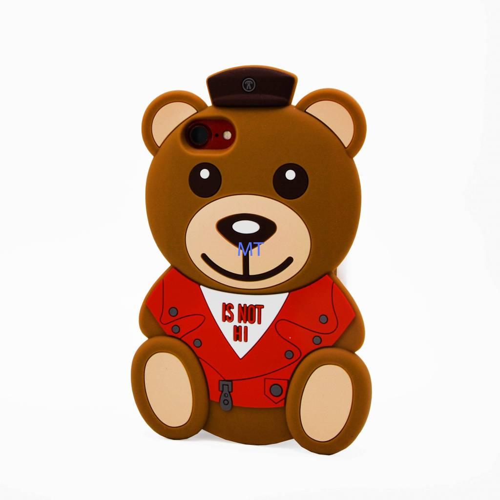 Bear&Piglet 3D Silicone Case Iphone 7 Plus