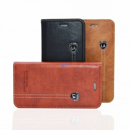 Lavann Lavann VIP Leather Bookcase For Iphone 10