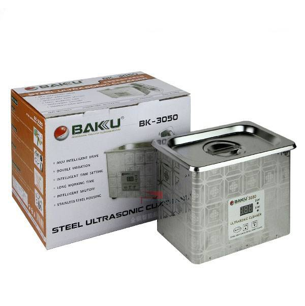 Baku Baku Steel Ultrasonic Cleaner (BK-3050)