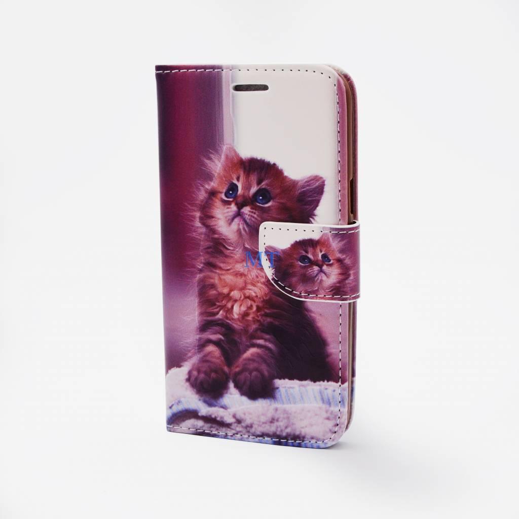 Kitty Print Case Galaxy J1
