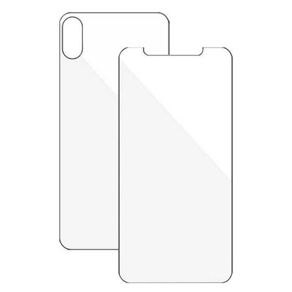 500X Tempered Glass Front and Back For I-phone 10