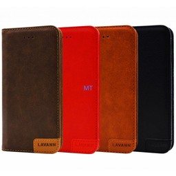 Lavann Lavann Leather Bookcase For I-phone X