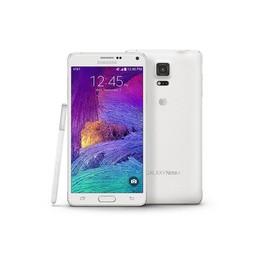 LCD White Galaxy Note 4 (N910F)