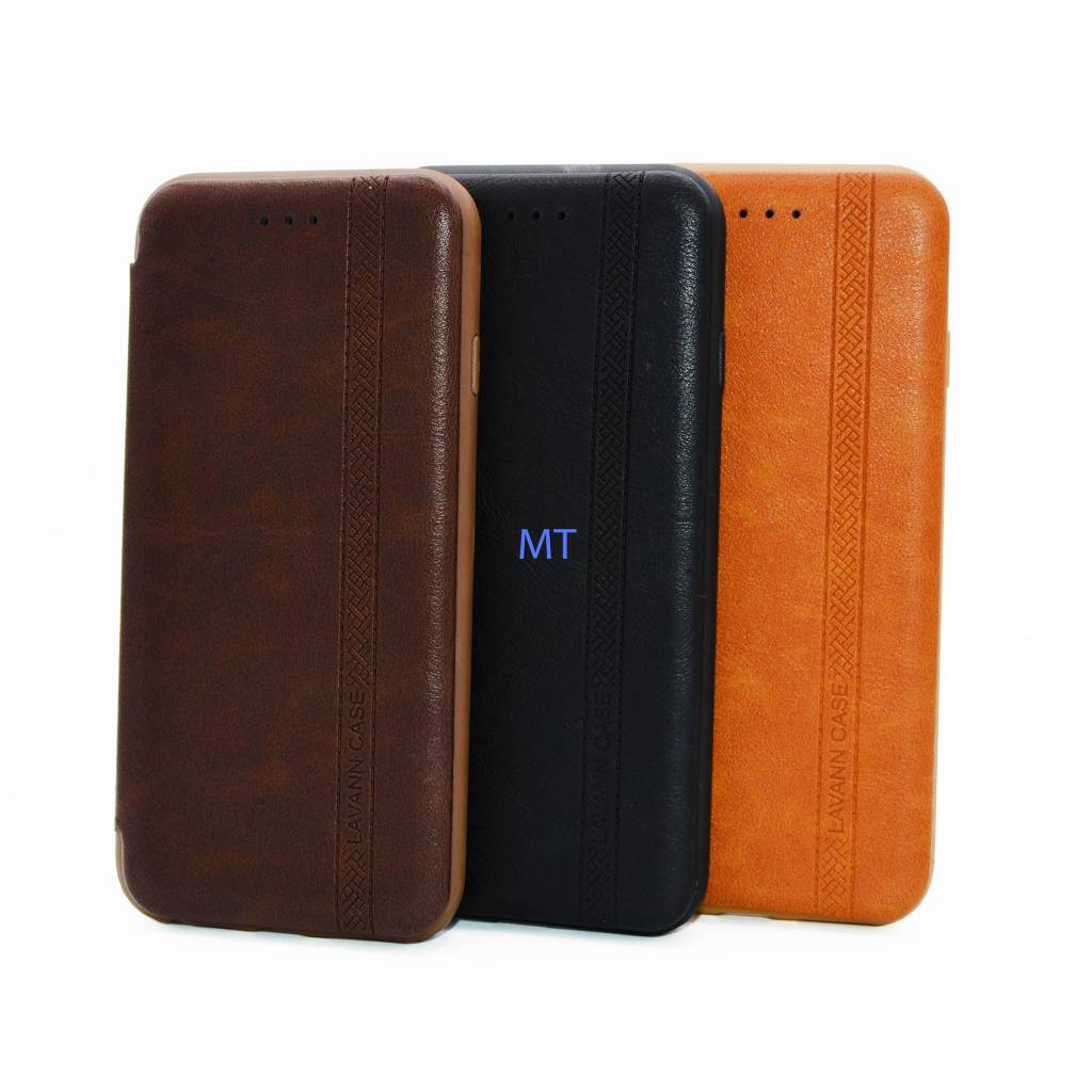 Mo Si Deng Leather Book Case For Iphone 6/6S Plus