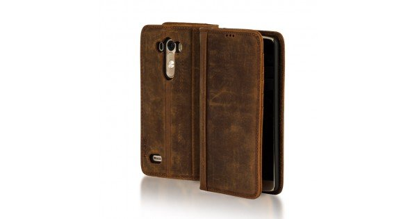 Kilif Leather Bookcase Galaxy S8 Plus