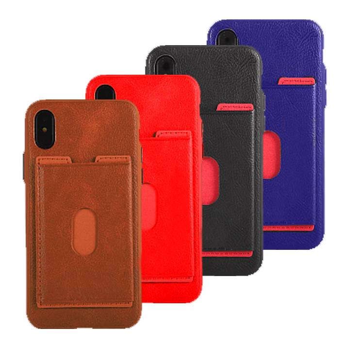Leather Silicone Card Case For I-Phone 6S