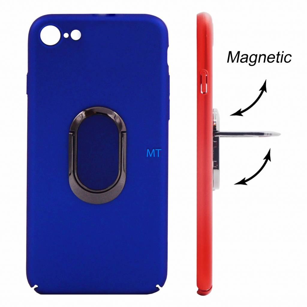Magnetic & Holder Case (QC & T) For I-Phone 7/8 Plus