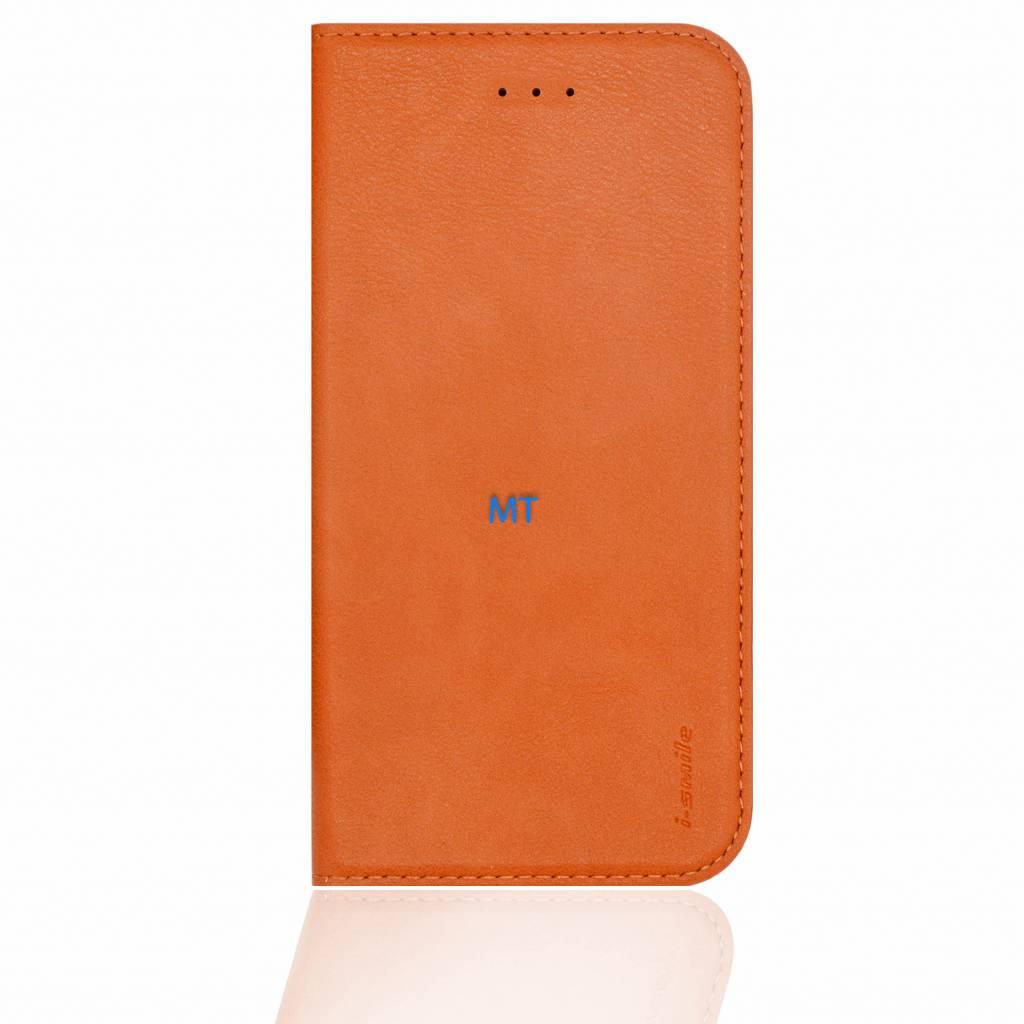 i-Smile Leather Bookcase Galaxy S8 Plus