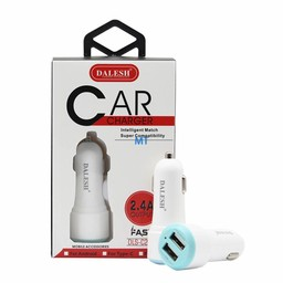 Dalesh Car Charger Intelegent Match USB Dual 2.4A Dalesh C29U Micro