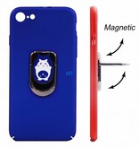 Cat Print Magnetic & Holder Case Galaxy S8