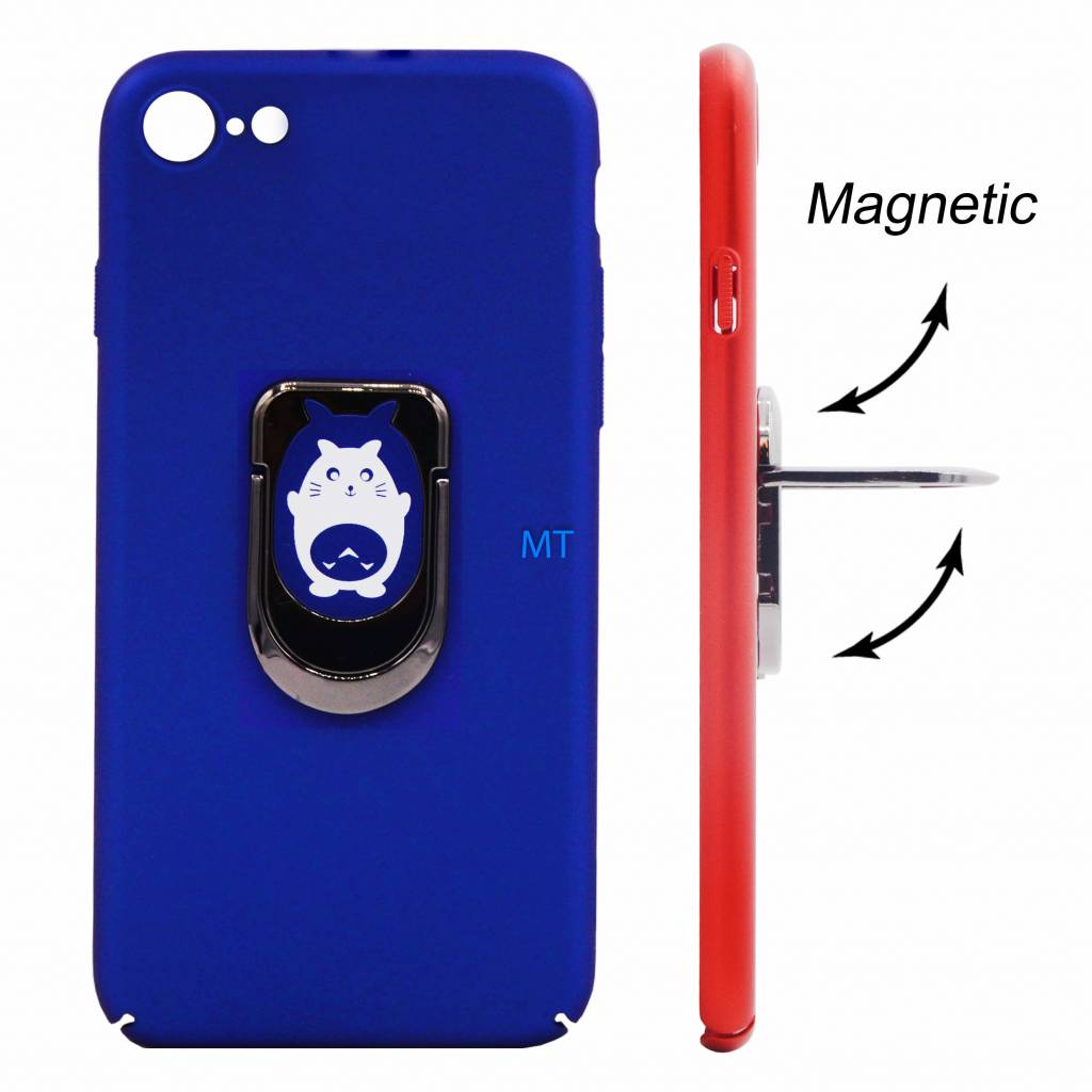 Cat Print Magnetic & Holder Case Galaxy j3 2017