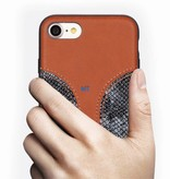 Yesido Premium Class Snake Leather Case For I-Phone 10
