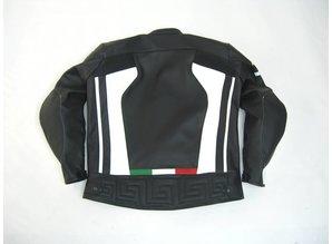 MJK Leathers Italy Leren Motorjack