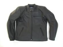 MJK Leathers Twin Tone All Black Motorjack