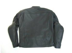 MJK Leathers Twin Tone All Black Leren Motorjack