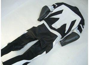 MJK Leathers Steel Leren Combipak