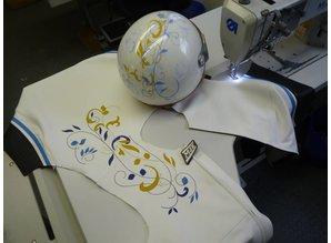 MJK Leathers Tarmac Design Leren Dames Motorjack